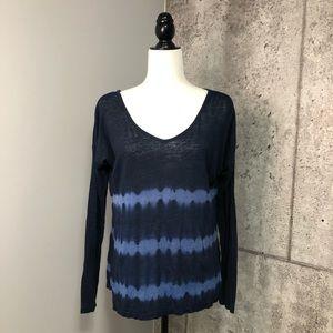 VELVET by Graham & Spencer Linen Tie Dye Dolman